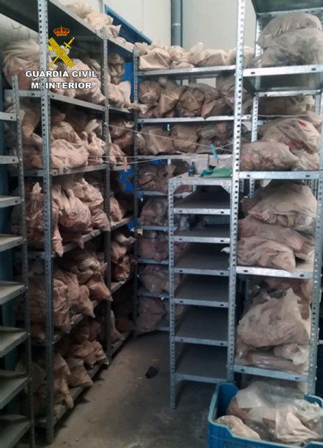 La Guardia Civil recupera 80.000 piezas arqueológicas halladas en una nave industrial de Lorca - 1, Foto 1
