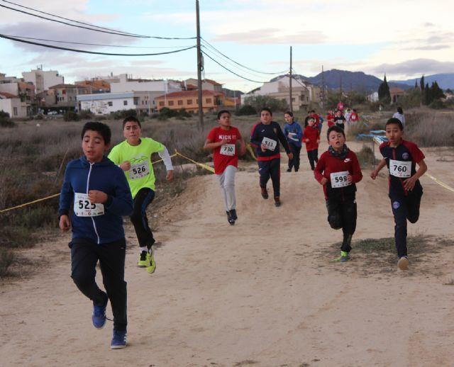 El cross local reúne a más de 250 escolares en Puerto Lumbreras - 2, Foto 2
