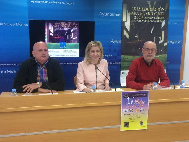 El programa de actividades en Molina de Segura de las V Jornadas Una educación para el siglo XXI se desarrolla del 5 de febrero al 11 de abril - 1, Foto 1