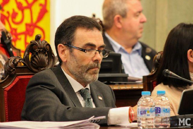 MC: El Pleno municipal, a instancias de José López, alcanza un acuerdo histórico rechazando los presupuestos regionales y reprobando al Gobierno de la CARM por discriminar a Cartagena - 3, Foto 3