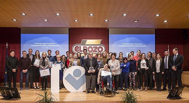 La Fundación de Trabajadores de ELPOZO ALIMENTACIÓN celebra con una gala su décimo aniversario, Foto 1