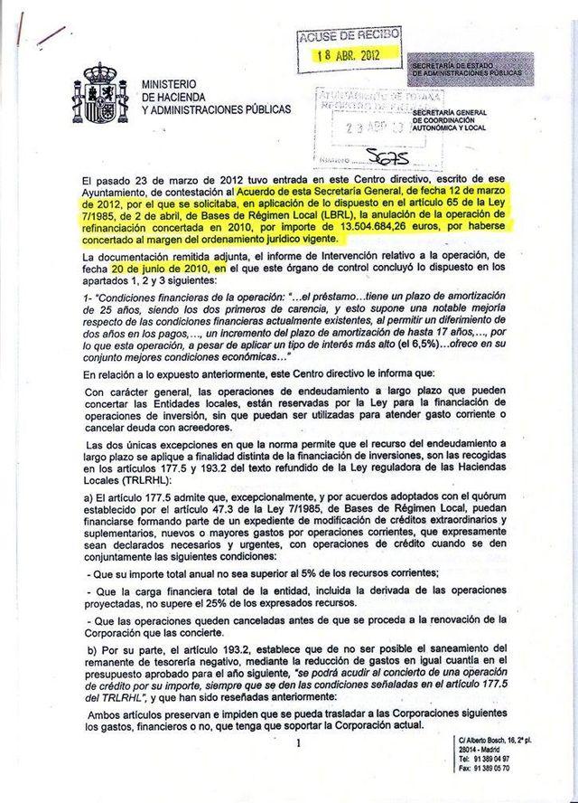 El alcalde de Totana explica en redes sociales los puntos 15 y 16 del pasado pleno - 1, Foto 1