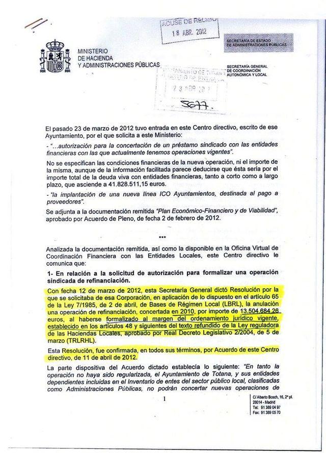 El alcalde de Totana explica en redes sociales los puntos 15 y 16 del pasado pleno - 2, Foto 2