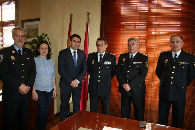El Alcalde se reúne con el Subdirector General de Logística de la Dirección General de Policía del Ministerio de Interior - 1, Foto 1