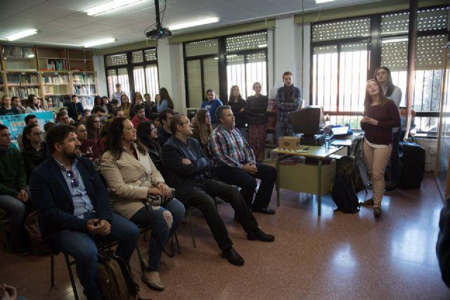 Los alumnos del IES Domingo Valdivieso analizan las posibilidades del turismo sostenible - 1, Foto 1