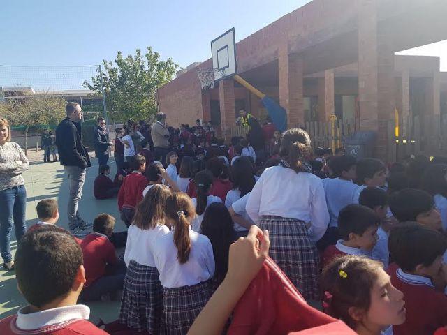 Protección Civil y la comunidad educativa del Colegio