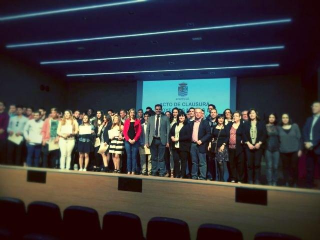 Concluyen tres programas de la Comunidad que han formado a 79 jóvenes parados de Molina de Segura - 1, Foto 1