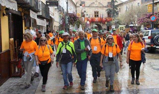 El Grupo de Senderismo Sénior de Cartagena peregrina a Caravaca de la Cruz - 2, Foto 2
