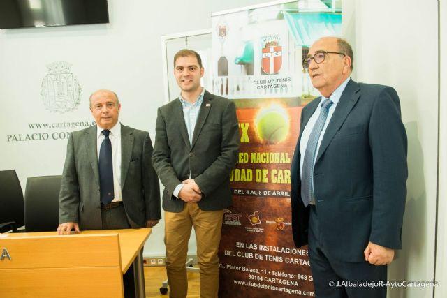 El XXIX Torneo Nacional de Tenis Ciudad de Cartagena Sub-15 reunira a 32 jovenes promesas del tenis español - 1, Foto 1