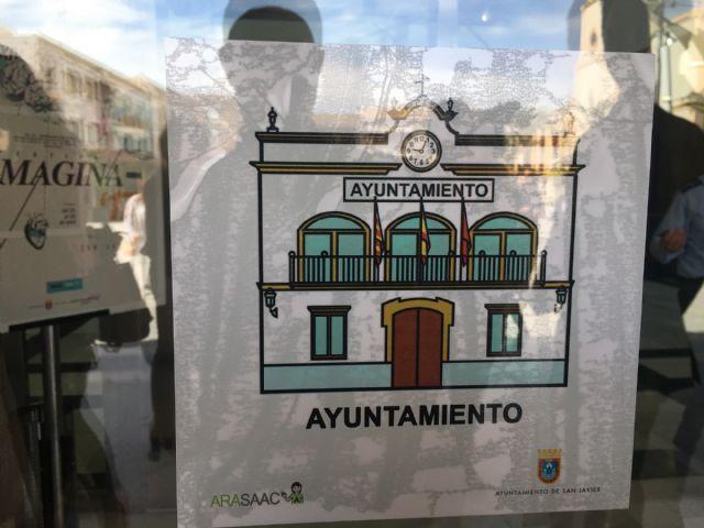 Los edificios públicos de San Javier contarán con pictogramas identificativos para personas con dificultades cognitivas - 4, Foto 4