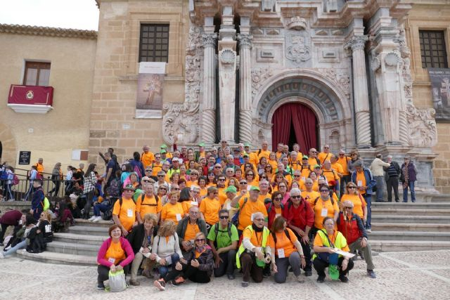 Los peregrinos del programa para mayores llegan a Caravaca - 1, Foto 1