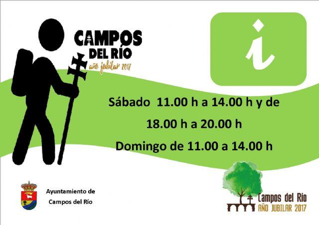 Campos del Río pone en marcha un nuevo Punto de Información Turística - 1, Foto 1