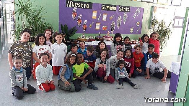 Los niños del CEIP LA CRUZ crean una exposición sobre la Semana Santa - 2, Foto 2