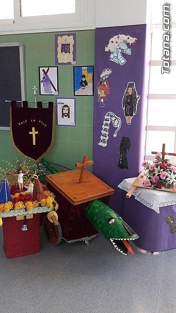 Los niños del CEIP LA CRUZ crean una exposición sobre la Semana Santa - 4, Foto 4