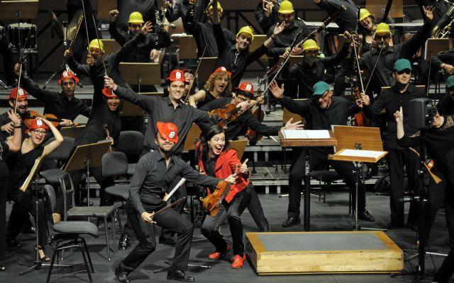 La Orquesta Sinfónica de la Región de Murcia acerca la música clásica al público infantil en El Batel con La patrulla sinfónica - 1, Foto 1