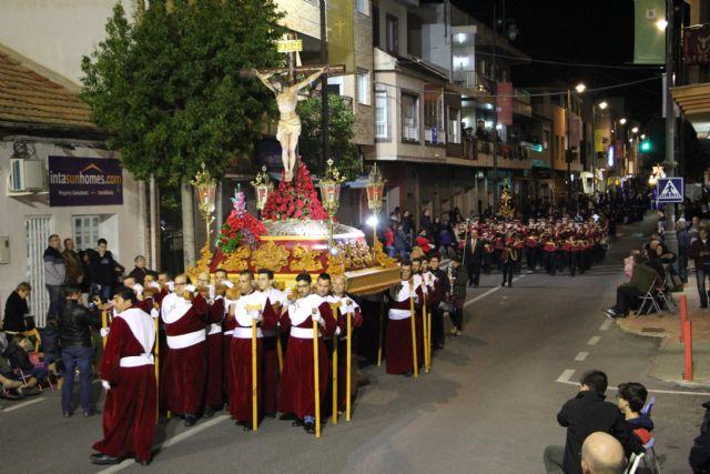 Pesar y aflicción en la solemne procesión del Santo Entierro - 3, Foto 3