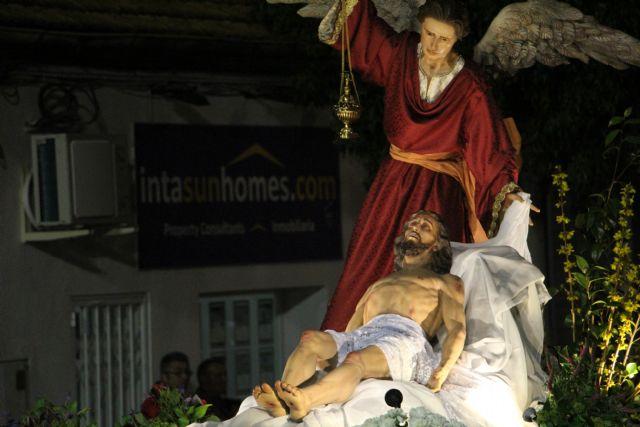 Pesar y aflicción en la solemne procesión del Santo Entierro - 5, Foto 5