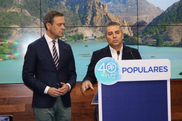 Jesús Cano: En sus 39 años, el trasvase del Tajo ha contribuido al desarrollo del Levante y al progreso de España - 1, Foto 1