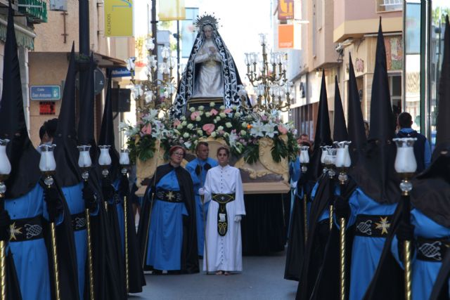 Los mayores veneran a la Virgen de la Soledad - 2, Foto 2