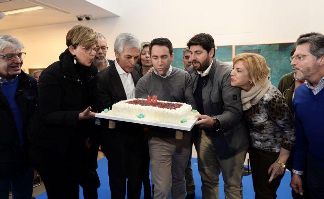 García Egea: Estamos orgullosos de poder soplar las velas del 40 aniversario del Tajo-Segura aunque a otros les gustaría tirar la tarta - 1, Foto 1