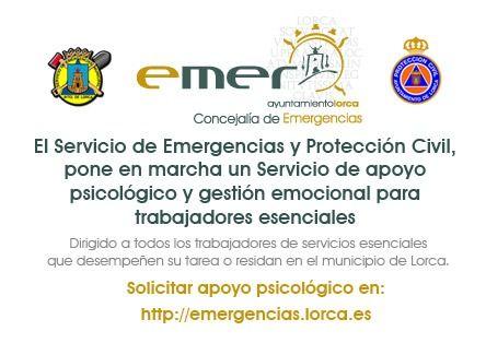 El Ayuntamiento de Lorca pone en marcha un servicio de apoyo psicológico y gestión emocional dirigido a trabajadores de servicios esenciales que luchan contra en Coronavirus - 1, Foto 1