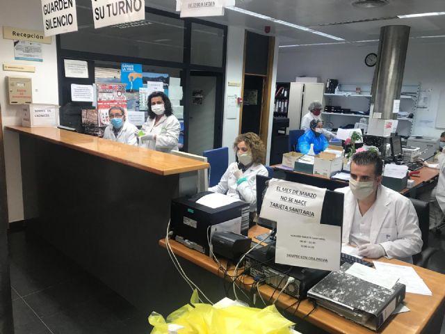 El Centro de Salud de Puerto Lumbreras sigue planificando su atención para dar la mejor respuesta ante el coronavirus - 1, Foto 1