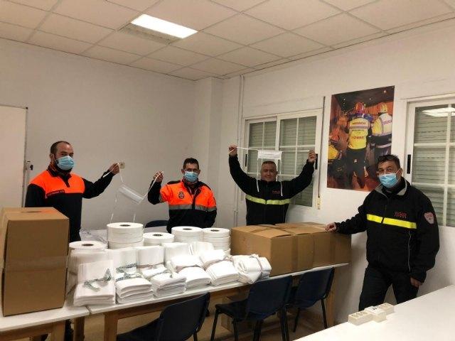 La Dirección General de Emergencias entrega a la Policía Local y Protección Civil varios lotes de mascarillas para su plantilla y voluntarios - 4, Foto 4