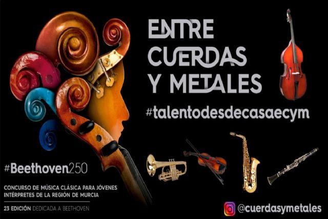 Entre Cuerdas y Metales celebra el nacimiento de Johann Sebastian Bach con premiados de anteriores ediciones del concurso - 1, Foto 1