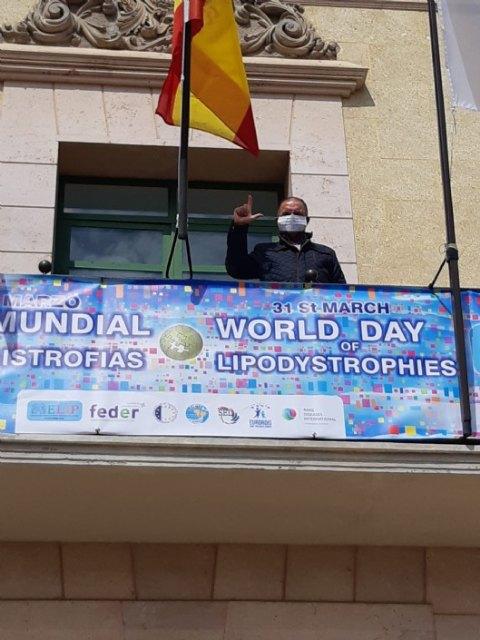 El ayuntamiento de Totana apoya el DÍA MUNDIAL DE LAS LIPODISTROFIAS 2020 - 2, Foto 2