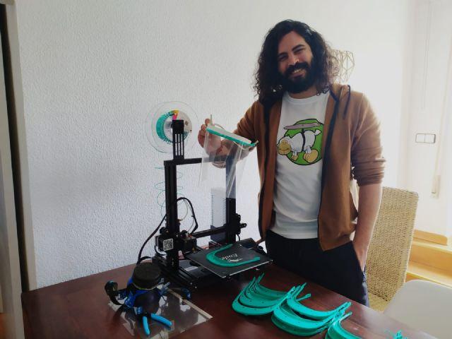Un exalumno de la UPCT moviliza a la Red para conseguir material para que los makers puedan seguir imprimiendo en 3D - 1, Foto 1