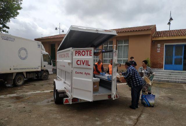 Protección Civil lleva cada día kits de comida e higiene a los barrios - 1, Foto 1