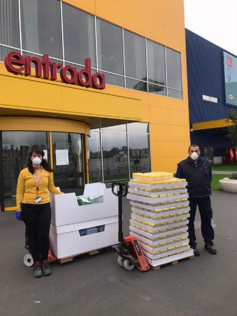 IKEA dona el material sanitario y otros productos con los que contaba en su tienda de Murcia a diferentes organizaciones de la región - 2, Foto 2