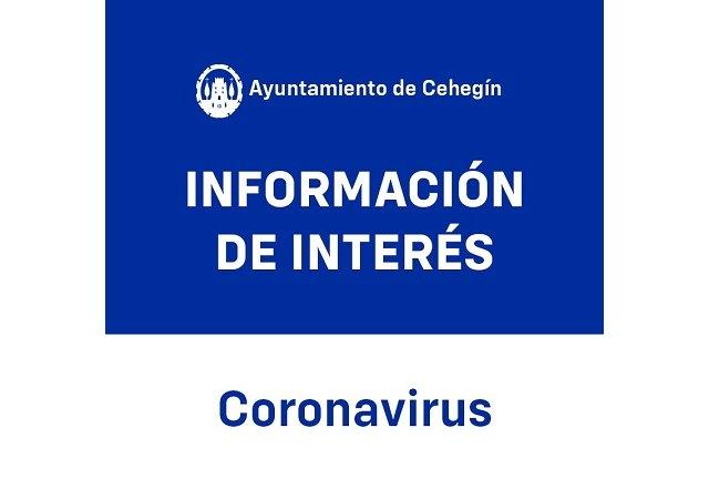 Nota informativa Concejalía de Obras y Servicios. Ayuntamiento de Cehegín - 1, Foto 1
