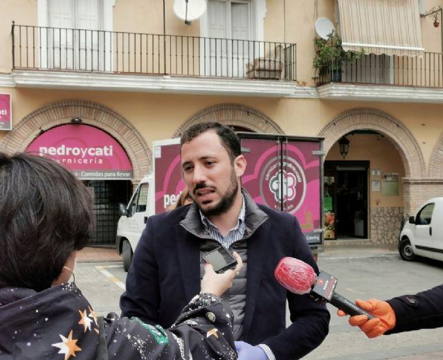 La concejalía de Comercio muestra su apoyo a los comerciantes de Lorca - 1, Foto 1