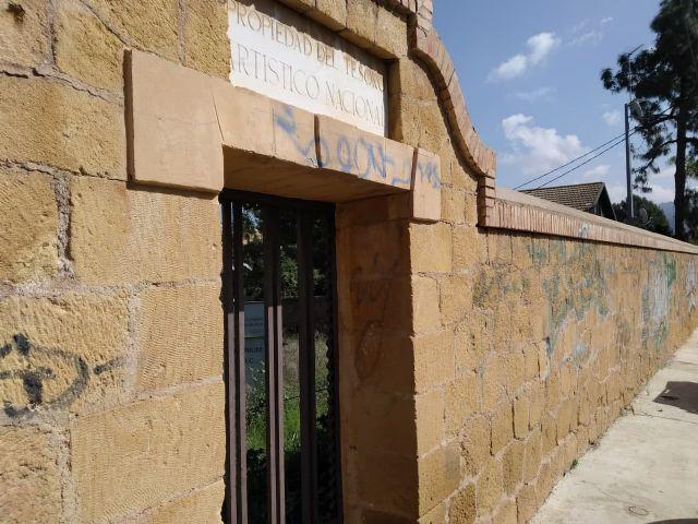 Huermur denuncia el vergonzoso estado del Martyrium y la Basílica de Algezares - 1, Foto 1
