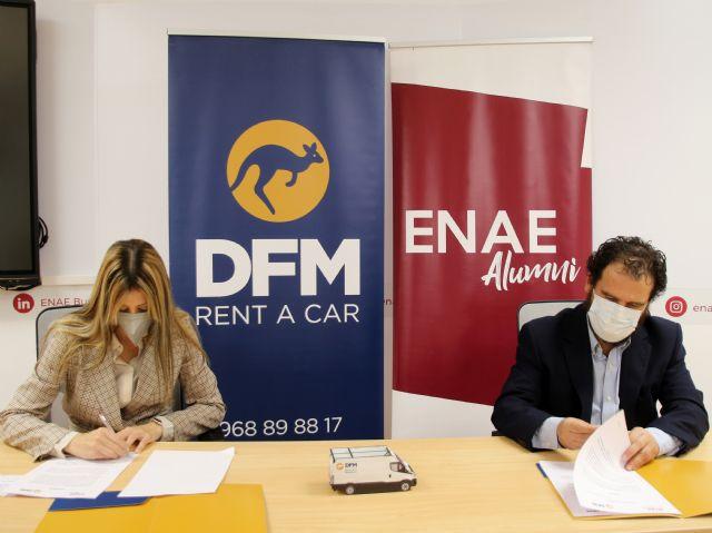 DFM Rent a Car y ENAE Alumni firman un acuerdo de colaboración - 1, Foto 1