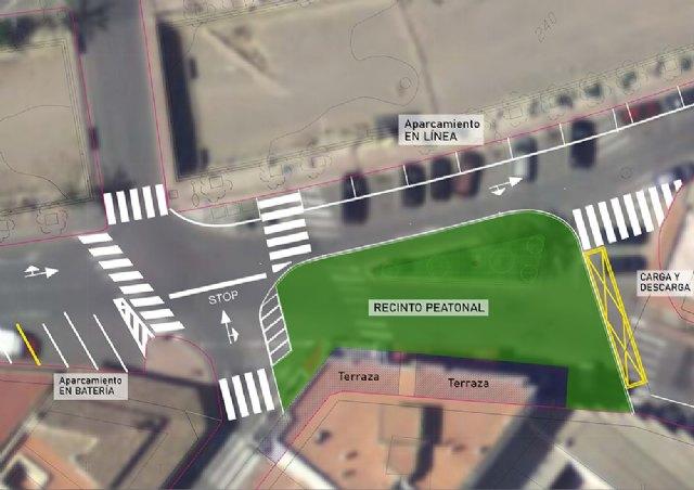 [La Comisión Municipal de Peatonalización acuerda reordenar el cruce de la zona de la Cruz de los Hortelanos, Foto 1