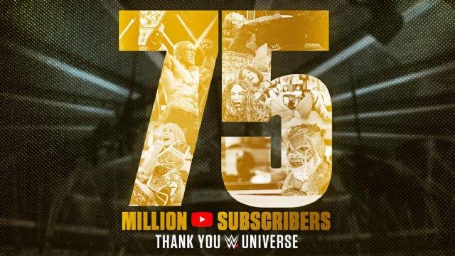 El canal de YouTube de la WWE alcanza los 75 millones de suscriptores - 1, Foto 1