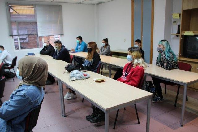 Doce jóvenes del municipio se forman para la recuperación del patrimonio de Alhama, Foto 2
