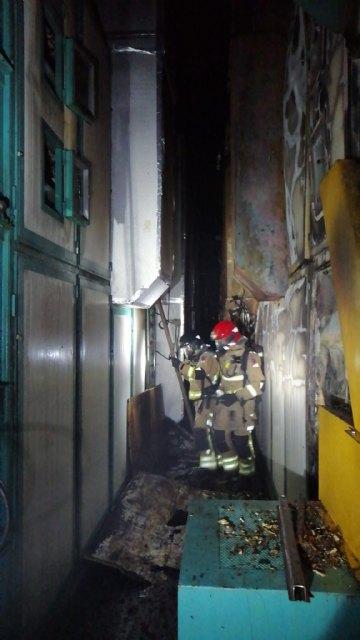 Incendio en un secadero industrial de pimentón en Totana - 3, Foto 3