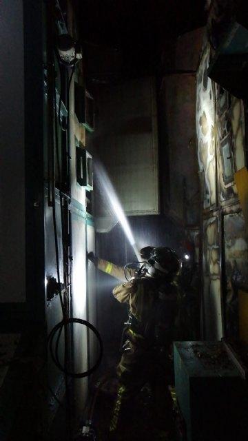 Incendio en un secadero industrial de pimentón en Totana - 4, Foto 4
