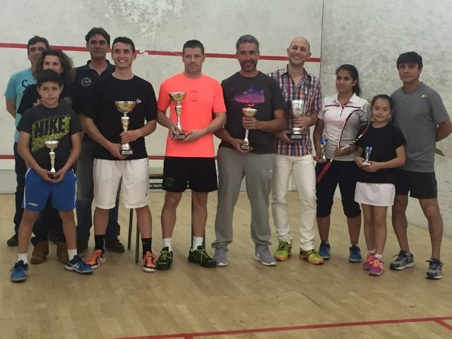 Alberto Pérez e Ingrid Ruiz vencen en el V Open Ciudad de Torrevieja de Squash - 1, Foto 1