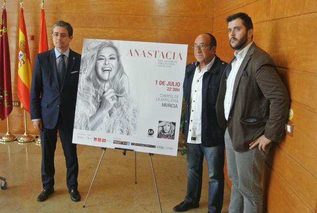 Anastacia elige Murcia dentro de su gira ´The ultimate tour´ - 1, Foto 1