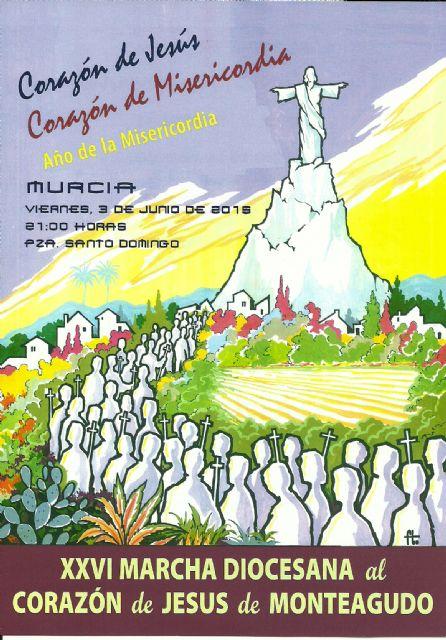 En la fiesta del Corazón de Jesús, Murcia peregrina al Cristo de Monteagudo - 1, Foto 1
