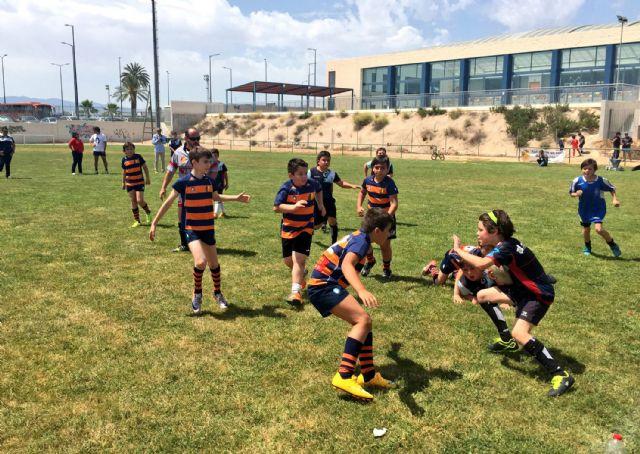 Las jóvenes promesas del rugby murciano protagonizan una gran jornada en Las Torres de Cotillas - 1, Foto 1