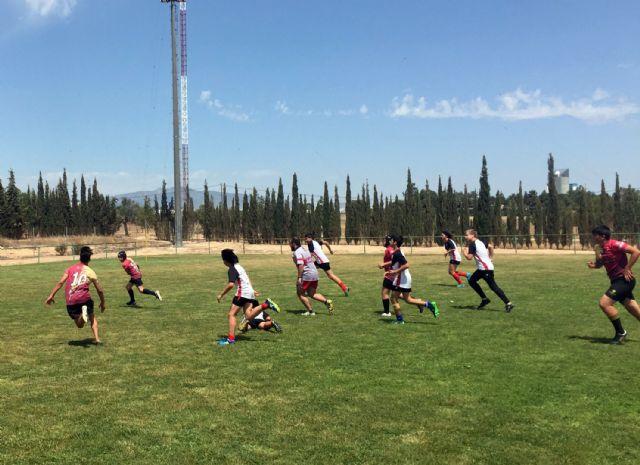 Las jóvenes promesas del rugby murciano protagonizan una gran jornada en Las Torres de Cotillas - 4, Foto 4