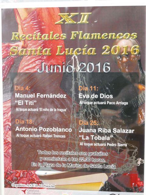 Cuatro reconocidos cantaores andaluces amenizarán los recitales flamencos a Santa Lucía que empiezan este fin de semana - 3, Foto 3