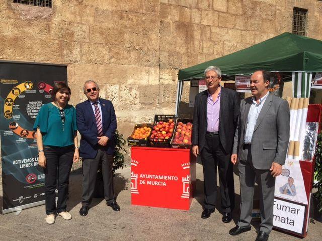 El Ayuntamiento de Murcia se suma al Día Mundial sin Tabaco - 1, Foto 1