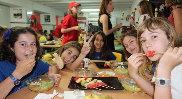 PROEXPORT presenta la ´Galaxia Fruthor´, el diverespacio de frutas y hortalizas en los colegios murcianos - 1, Foto 1