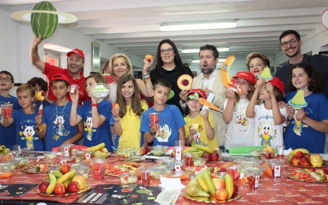 PROEXPORT presenta la ´Galaxia Fruthor´, el diverespacio de frutas y hortalizas en los colegios murcianos - 2, Foto 2